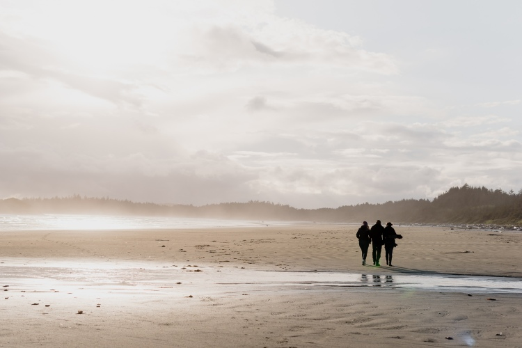 Tofino, Beach, sunset, waves, photographer, family