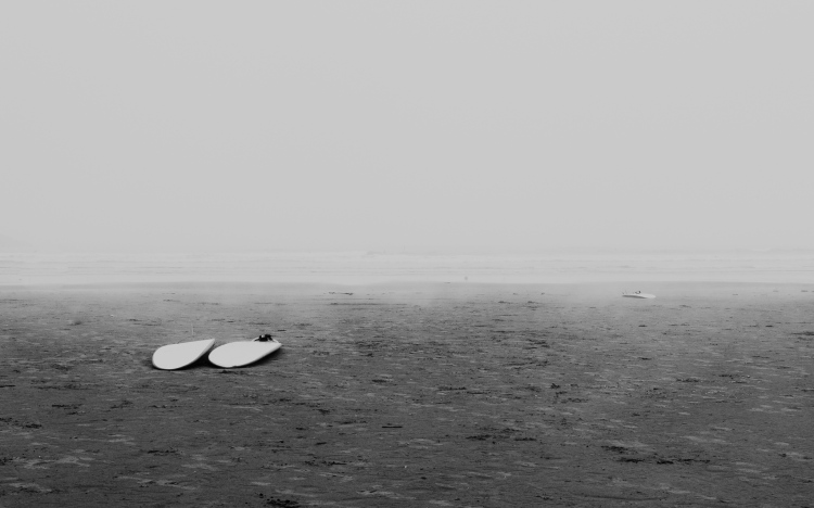 Ocean, Tofino, Surfing, British Columbia, Surf Sisters, Black and White, Photographer, Family