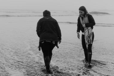 Tofino, Beach, sunset, waves, photographer, family